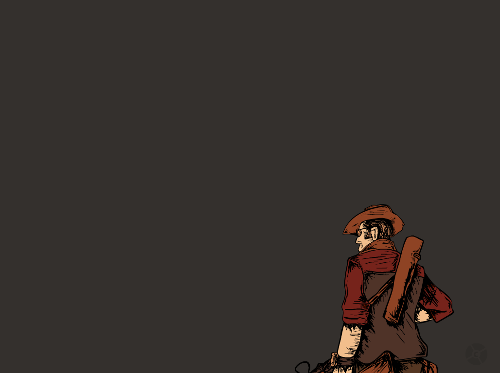 TF2 Sniper Wallpaper By CrisNMP