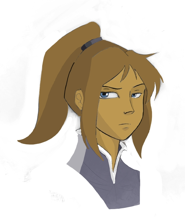 Korra Face by lavaguava
