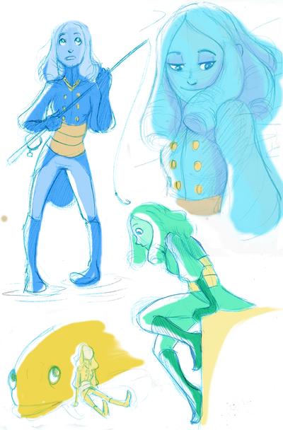Luka sketches by kittykeoko
