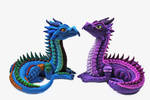 Polymer Clay Elder Dragons