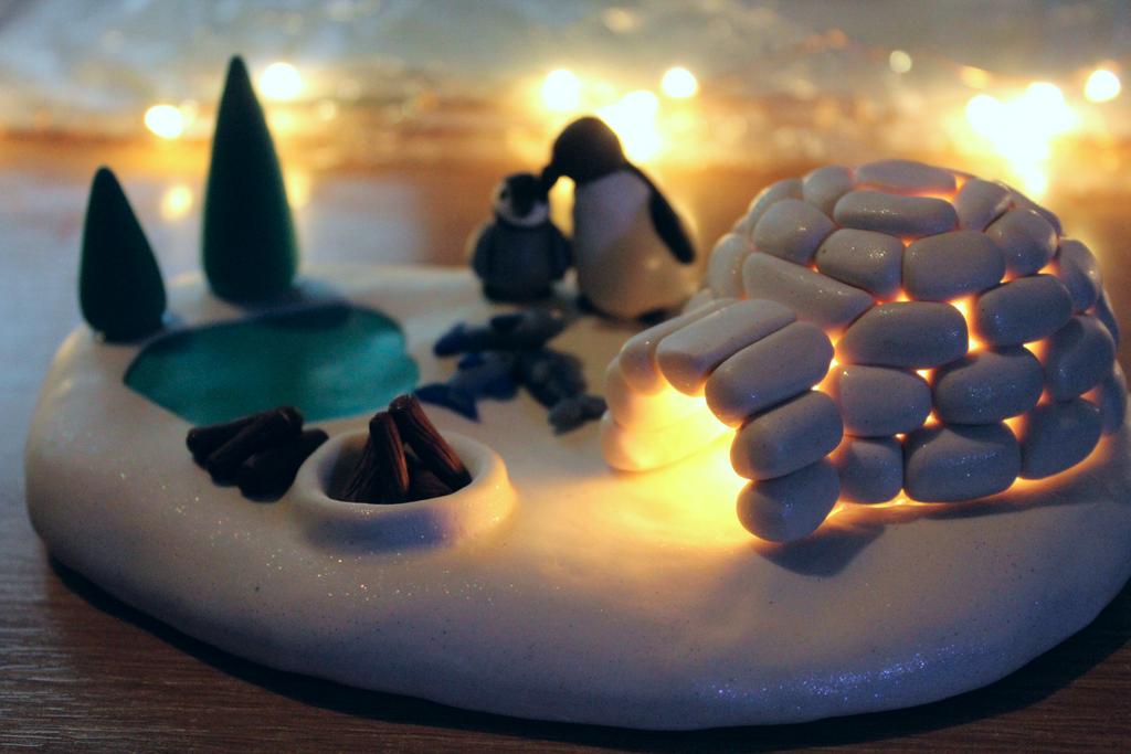 Light up Winter scene by RaLaJessR