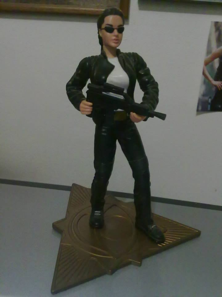 Tomb Raider Action Figure Movie Angelina Jolie By