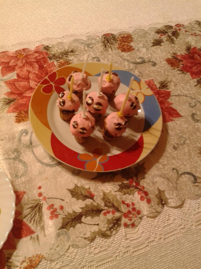 Fnaf muffins by miawell1990