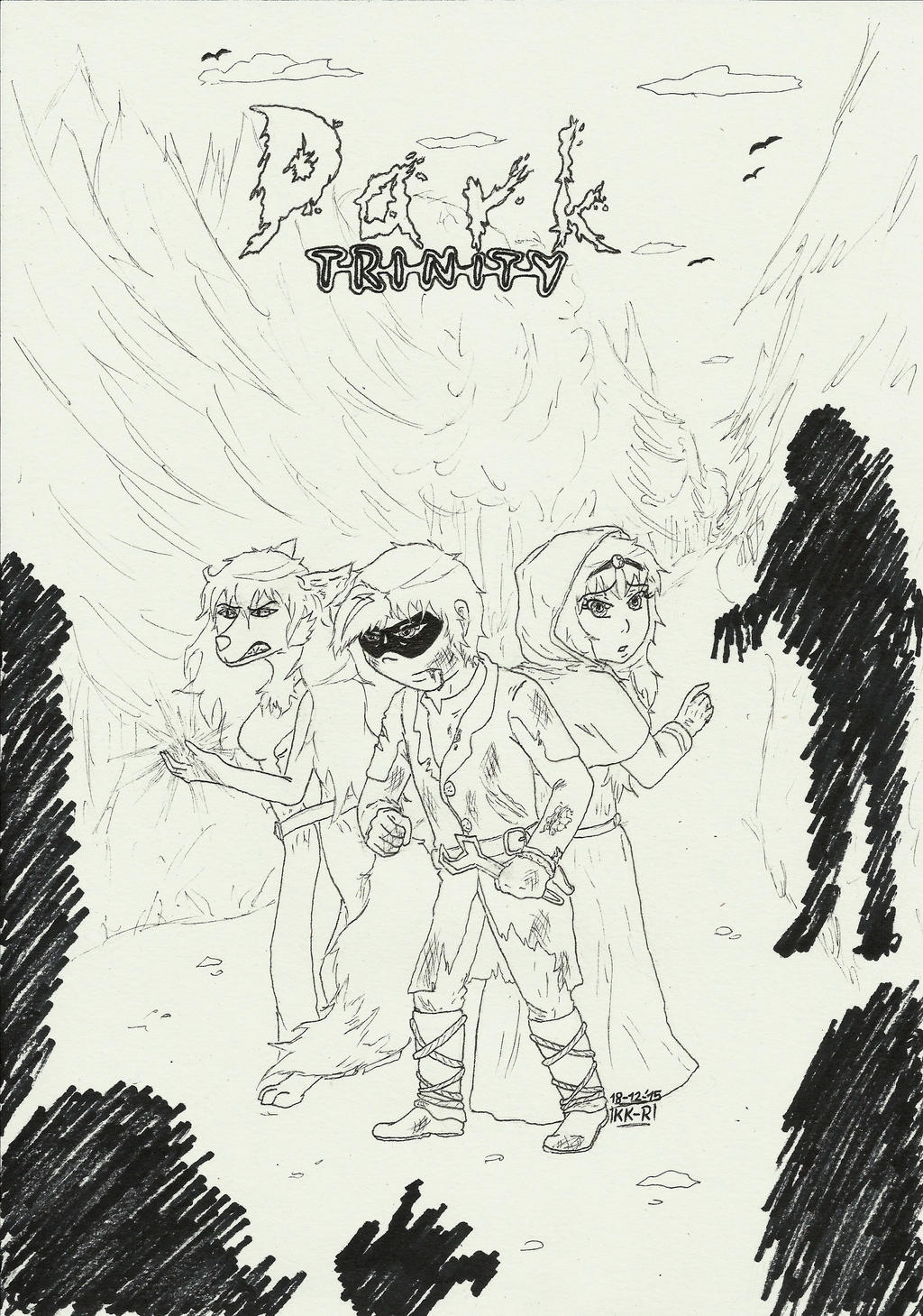 Dark Trinity by miawell1990