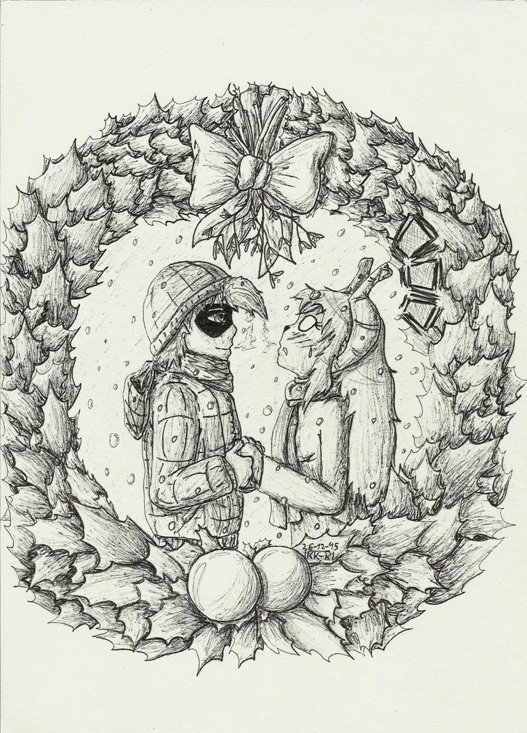 Mistletoe by miawell1990