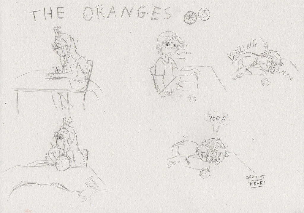 The oranges by miawell1990