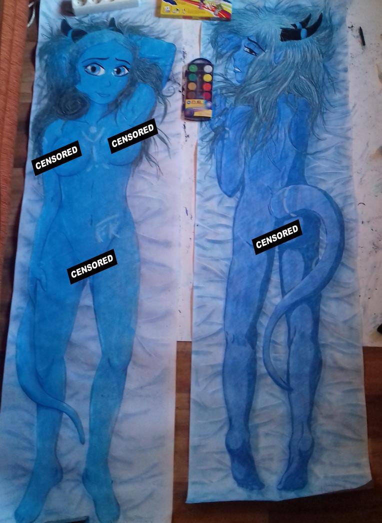 Niebieska by miawell1990