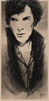 Benedict Cumberbatch - Doodle Portrait Art