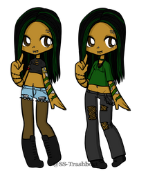 Outfits // Debby Set by SS-Trashboat