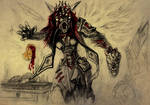 Wolkolak named Pereviortysh by ArachnaFonFenris
