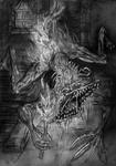 Loran's Silverbeast by ArachnaFonFenris