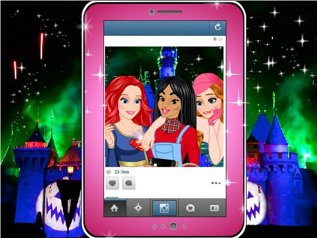 Ariel, Jasmine and Anna by Racesgirl2000-1