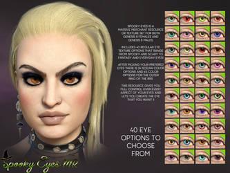 TMHL Spooky Eyes MR G8 by TwiztedMetal3D