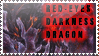 Red-Eyes Darkness Stamp by KuroKarasu