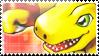 Agumon Alpha Evolve Stamp by TheLastHetaira
