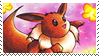 100th Stamp - Himeno Eevee by TheLastHetaira