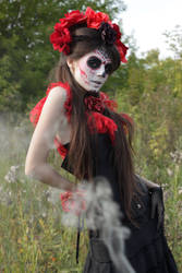 Drawing reference: Bella Muerta 1 by LetzteSchatten-stock
