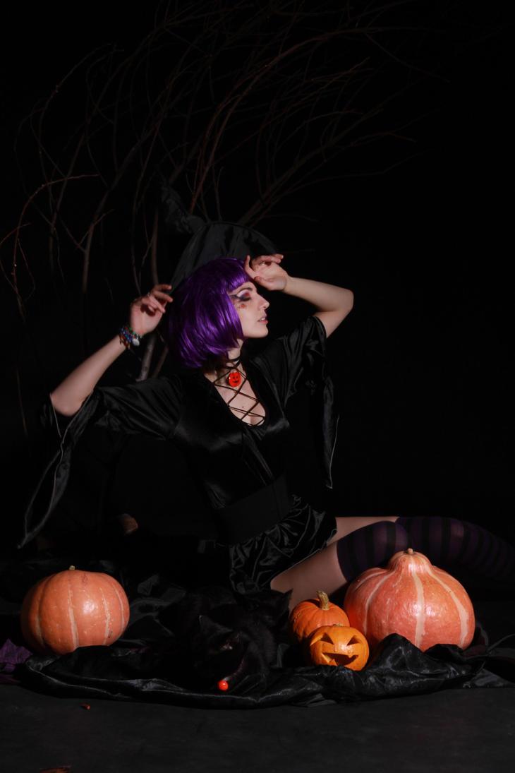 Halloween Witch by LetzteSchatten-stock