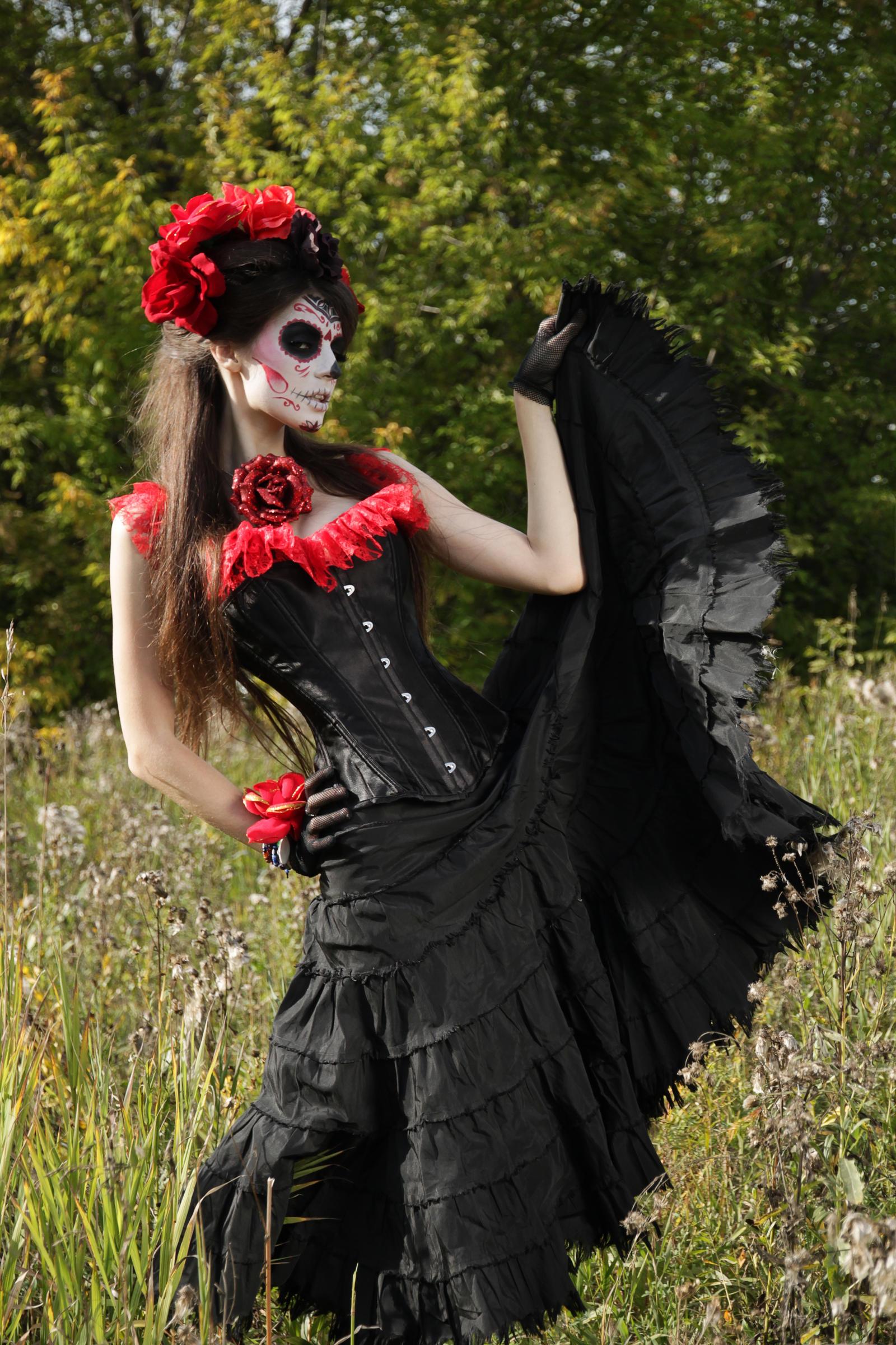 Bella Muerta pt2 by LetzteSchatten-stock