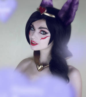 Sweetheart Xayah - costest by MightyRaccoon