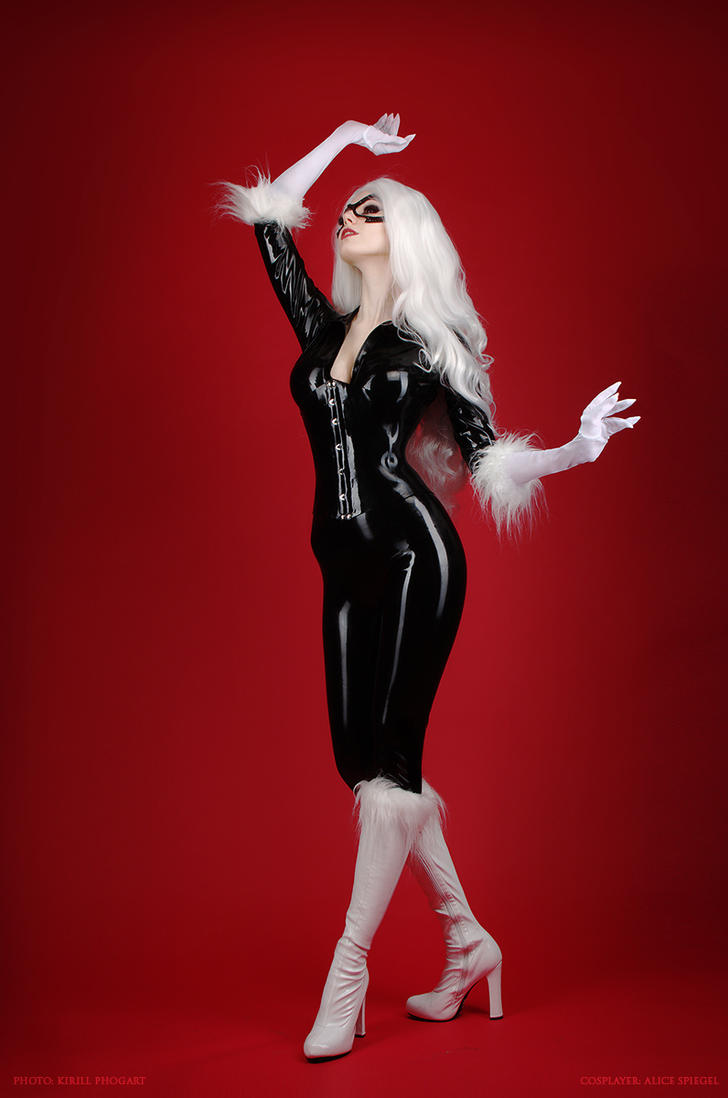 Black Cat cosplay Teaser by LetzteSchatten-stock