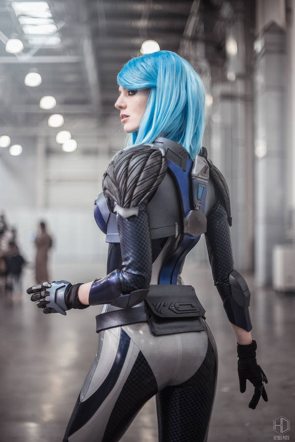 Quake Champions - NYX by MightyRaccoon by LetzteSchatten-stock