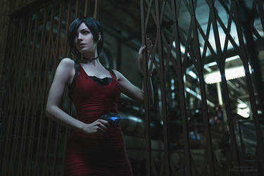 Ada Wong cosplay by MightyRaccoon, Resident Evil 2