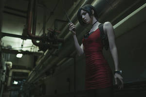 Resident Evil 2- Ada Wong cosplay by Alice Spiegel