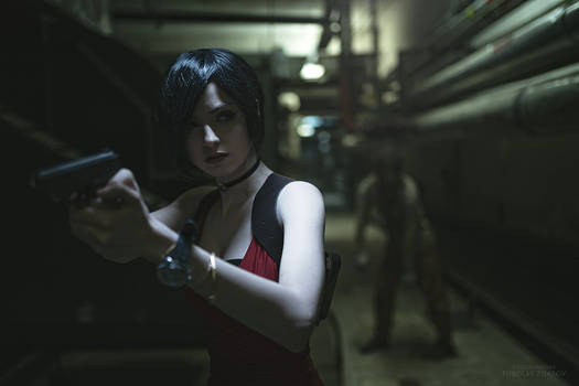Ada Wong cosplay by MightyRaccoon (Alice Spiegel)