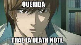 querida trae la death note by brandon119