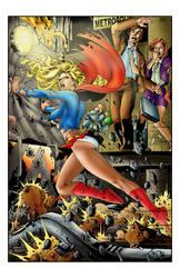Supergirl Pinup
