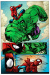 Avenging Spider Man Coloring