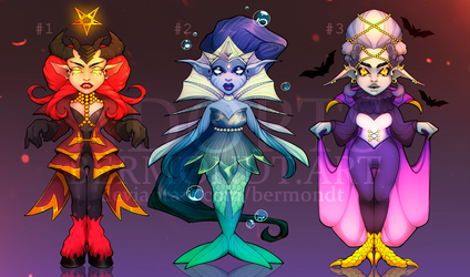 [OPEN!] ADOPTS by bermondt