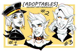 OPEN | HEADSHOTS ADOPTS #5 by bermondt