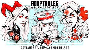 OPEN | HEADSHOT ADOPTS #10 by bermondt