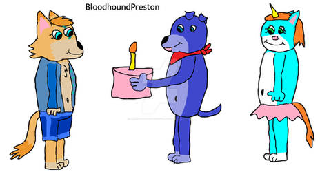 (B-Day Gift) Preston Gives Bella a Birthday Cake