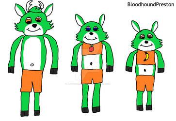 (Gift) The Deer Siblings