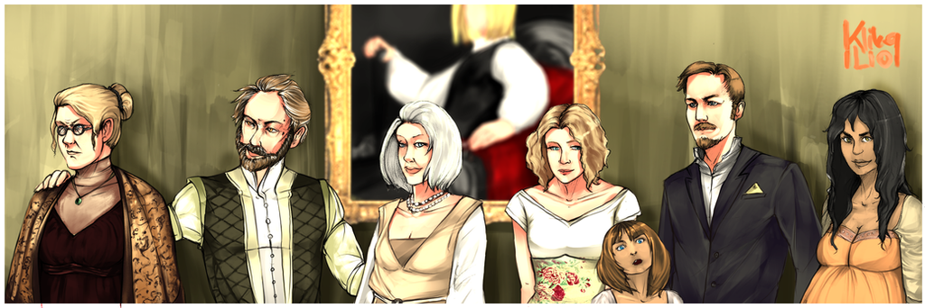 Carlowitz Family by xxberilxx