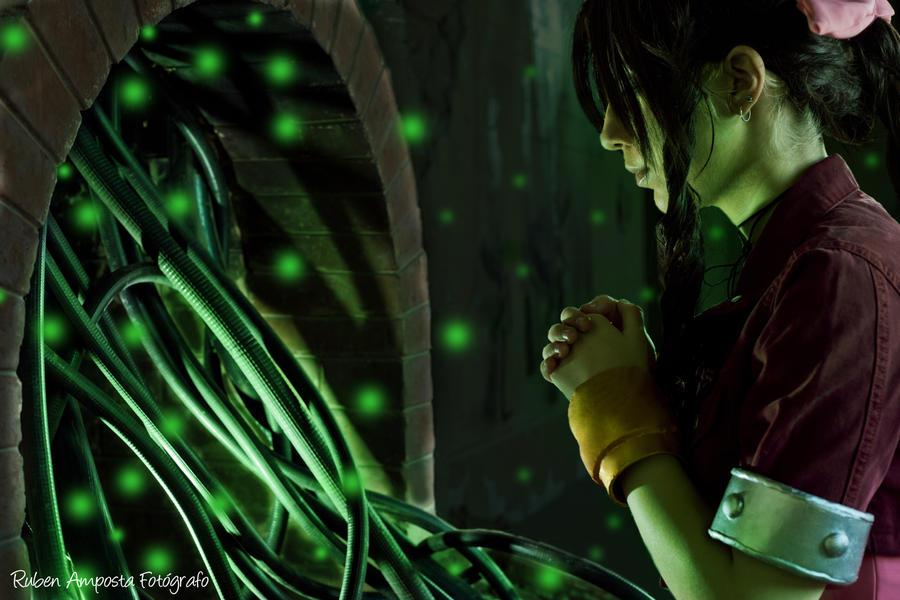 Aerith Gainsborough - Lifestream by Sora-Phantomhive