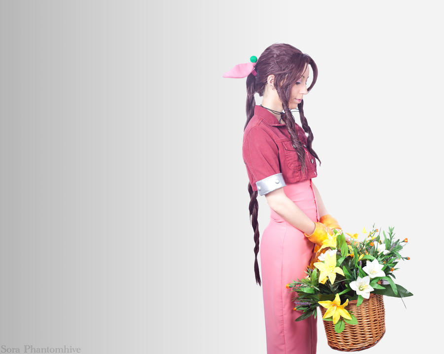Aerith Gainsborough - Serenity by Sora-Phantomhive