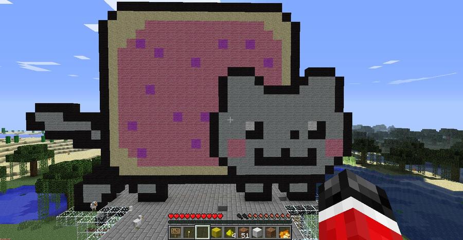 Computer Craft Nyan Cat