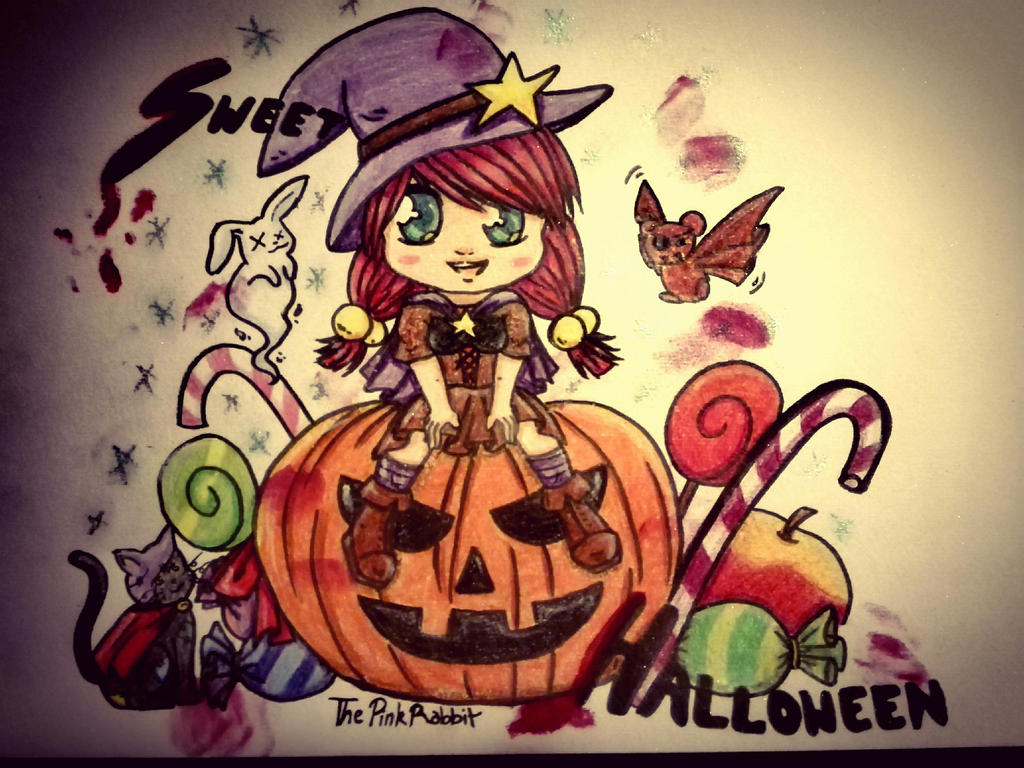 Sweet_Halloween by ThePinkRabbits