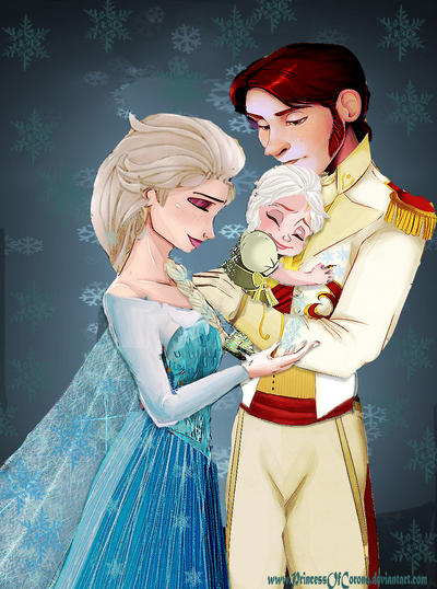 Royal family of Arendelle by PrincessOfCorona