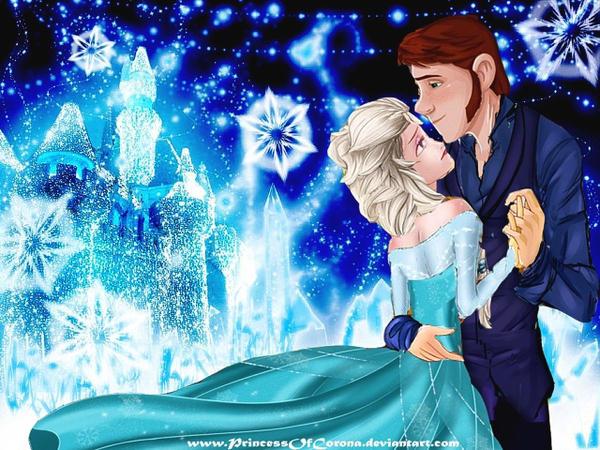 Frozen Honeymoon: Queen Elsa and Prince Hans by PrincessOfCorona