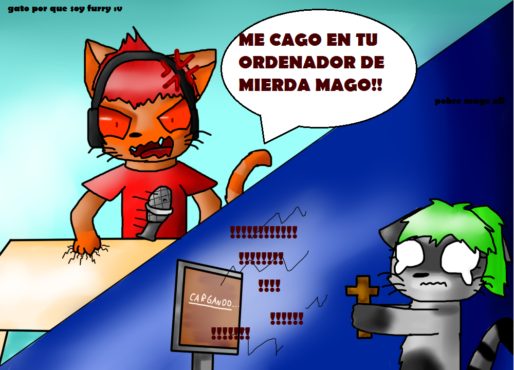 Deigamer Y Mago by Catdefnac