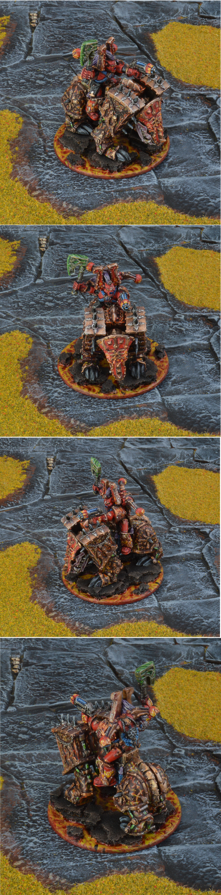Vintage 1994 Chaos Lord of Khorne On Juggernaut by Minisnatcher