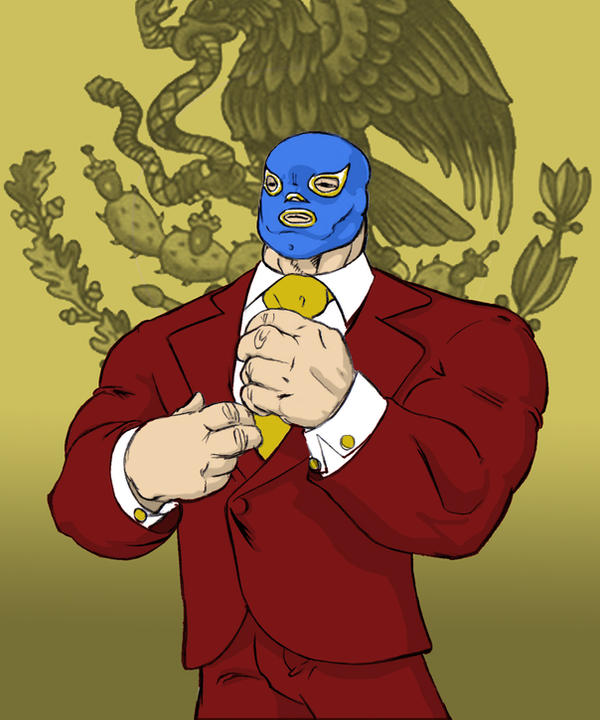 [Event] Rush!!! Luchador_by_pepitojr