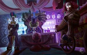 Creepy Clowns by iancjw