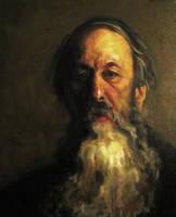 Portrait of the Art Critic Vladimir Stasov by iancjw