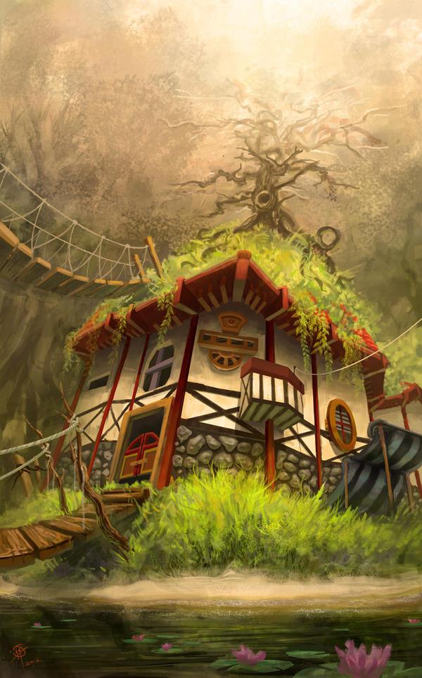 Tree House by iancjw